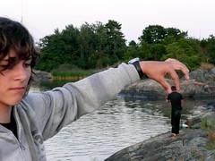 Good bait catches fine fish ... (runlama) Tags: sea fun sweden schweden baltic sverige ostsee bait archipelago jannis spas runlama ostergotland ostersjon arkosund itameri koder snedskar