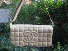 Beige Quilted