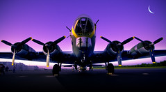 x4 (desertdragon) Tags: sunset soldier charlotte libertybelle b17g absolutelyperrrfect creativeoutbursts