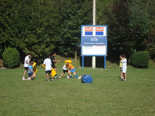 Alebinak, Errugbi Eskola 2009/2010