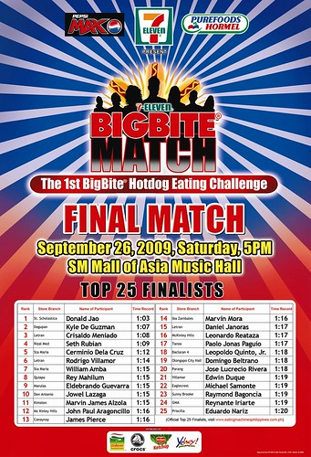 7-Eleven's Big Bite Challenge TOP25