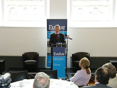 Peter Robinson at the Evolve Public Policy Forum