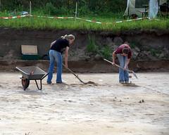 Active Dig Work in Progress