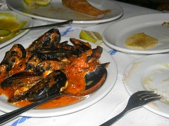mussles saganaki egaleo