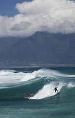 Surfers,  Hookipa Beach (Robert_Brown [bracketed]) Tags: ocean park blue sea brown robert beach water canon hawaii waves pacific mark maui ii 5d hookipa