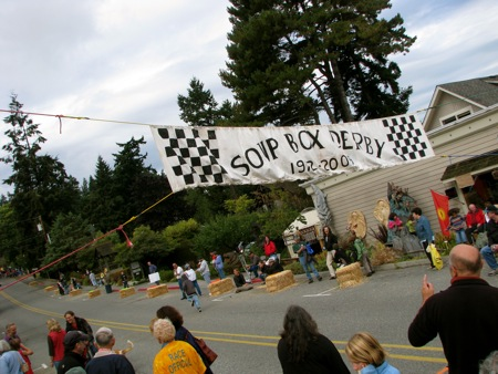 Soup Box Derby 2009 in Langley