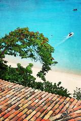 Baie Longue Beach (delaphotography) Tags: blue vacation art texture beach water canon artwork sand stmartin tropical caribbean 1785mm sxm paniting 40d canon40d baielongue 17mm85mm colorsofthesoul uncommoncaribbean