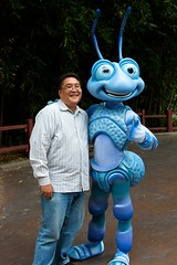 Disneyland Aug 2009 - Meeting Flik