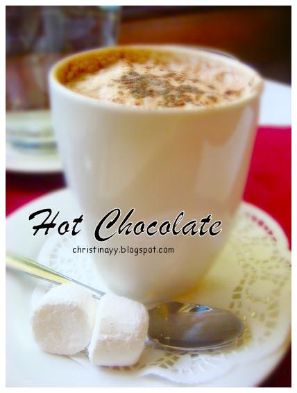 Angelo's House Restaurant Toowoomba: Hot Chocolate