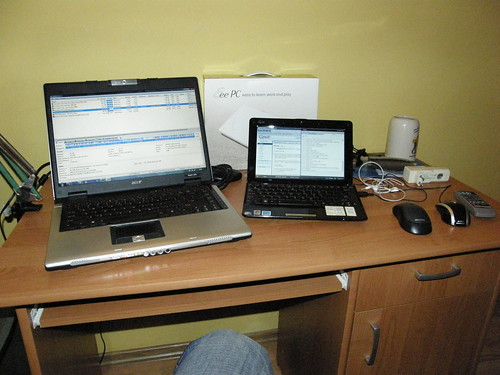 ASUS Eee PC vs. Acer Aspire 5610