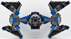 6206 tie fighter front (Big Cam crsx) Tags: starwars lego 6206