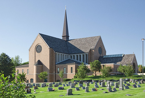 Immaculate Conception in Dardenne Prairie - exterior of new church