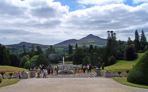 Powerscourt Garden, the royal view