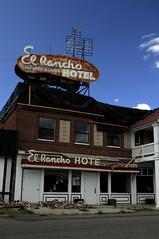 El Rancho Hotel - Wells, Nevada (ap0013) Tags: usa abandoned america hotel earthquake nikon nevada motel wells el nv damage americanwest rancho nev elrancho elranchohotel d90 earthquakedamage nikond90 wellsnevada