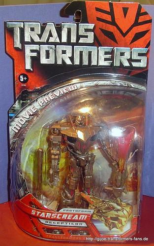 Protoform Starscream Movie-2007  Deluxe Transformers 001