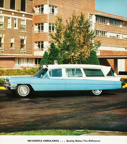 1963 Cadillac-Eureka Ambulance