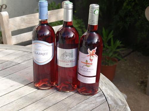 Vins roses de Bordeaux
