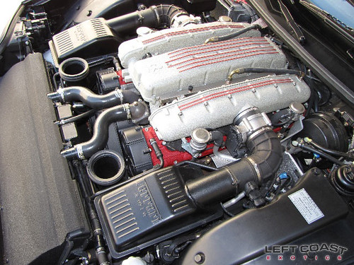 Ferrari 575m Engine