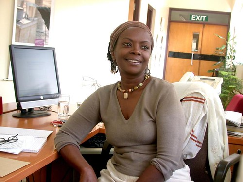 Terry Muindi, Senior Administrative Assistant, Directorate