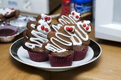 mummycakes (callie callie jump jump) Tags: halloween cookies cupcakes vermont chocolate mummy mummies