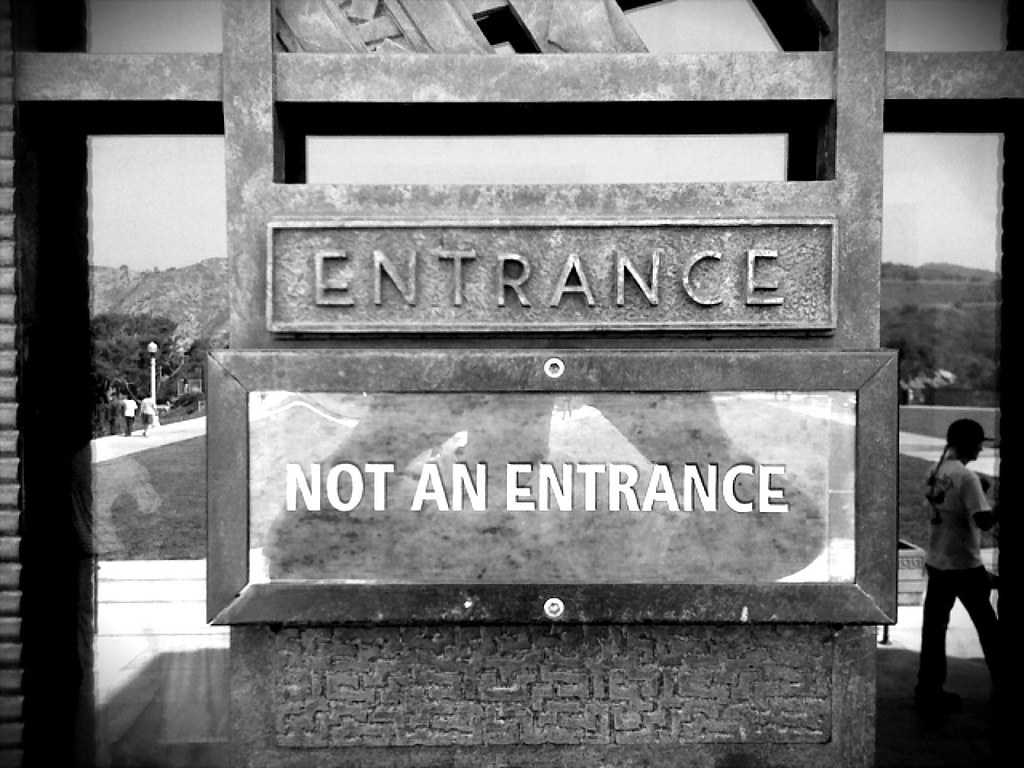 Entrance No Entrance (Monochrome Mix)