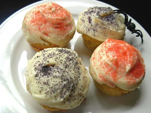 Pretty Pumpkin Cupcakes