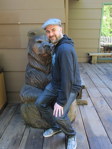 2 Bears together at Muir Woods