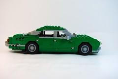 Jaguar XJ Saloon Series I 1968 (lego911) Tags: auto classic car model lego william jaguar saloon lugnuts lyons xj xj12 moc xj6 foitsop
