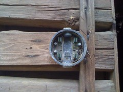 Electricity At Log Cabin