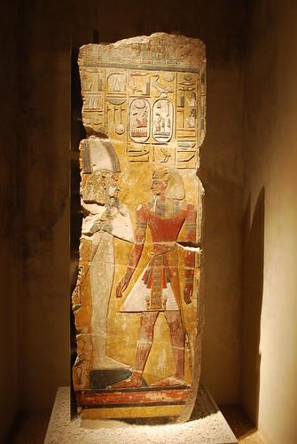 Relief fra Sethos I.'s grav
