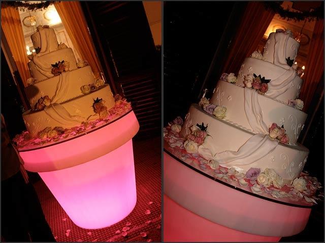 Wedding Cake in Lake Como
