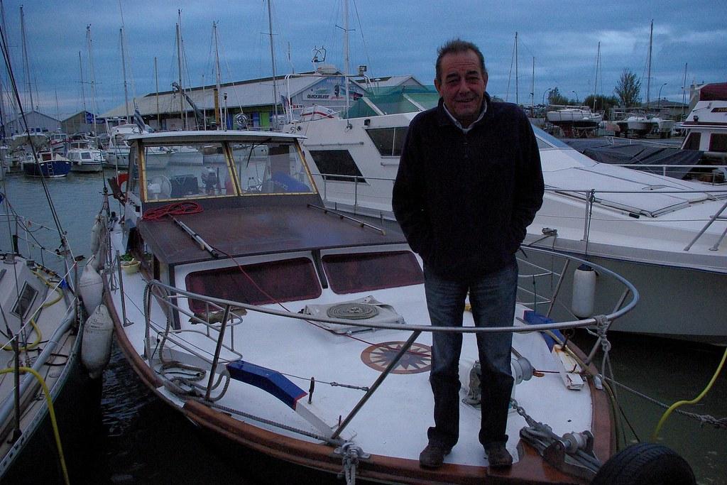 Patrice, le prudent, navigue sur Le Bato