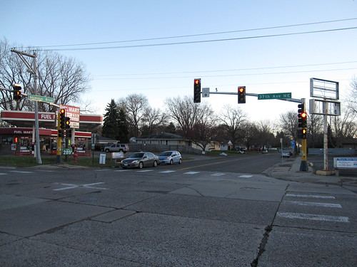 37th Ave NE at Stinson