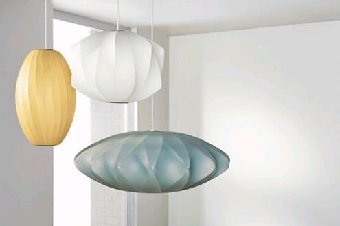 nelson color pendant lamps