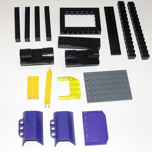 LEGO Space Police 2010 5982 Smash 'n' Grab - Parts 4