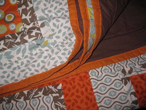 arcadia quilt folded