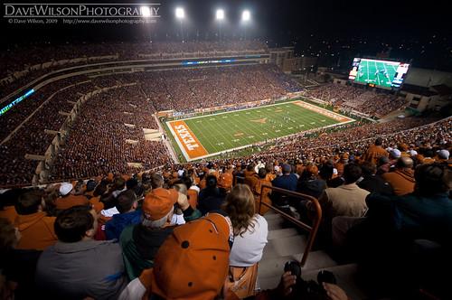 Capacity Crowd, Texas Memorial Stadium