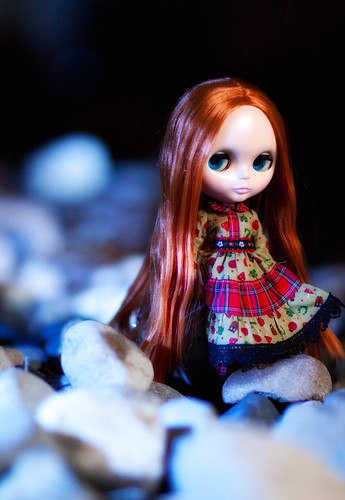 Yuki (Last Kiss) in her Dollsville Christmas Dress
