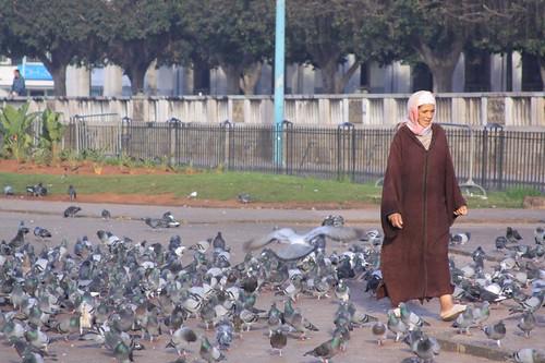 Grande Place Mohammed V, Casablanca...