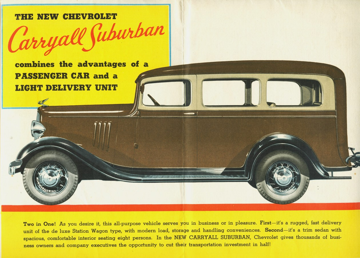 1935 Chevrolet Carryall