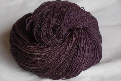 Hand Dyed Sock Yarn (Natural Dyes)