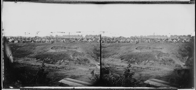 Camp near City Point Va by The US National Archives