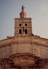 Notre Dame des Doms (aka Buddy) Tags: france bus europe tour des og scanned 1989 notre dame avignon doms mondayphotochallenges