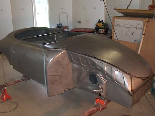 Porsche 356 pre A Speedster restauratie