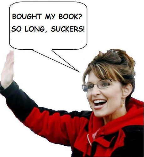 Palin Quits Book Signing Tour!