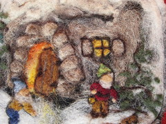 Needle Felted Tapestry (haddy2dogs) Tags: waldorf haddy2dogs