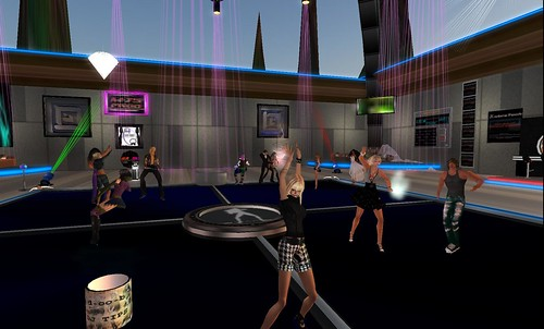 le diams club party in second life