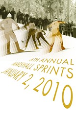 6th Annual Marshall Sprints Poster
