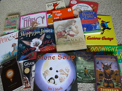 Donated childrens books
