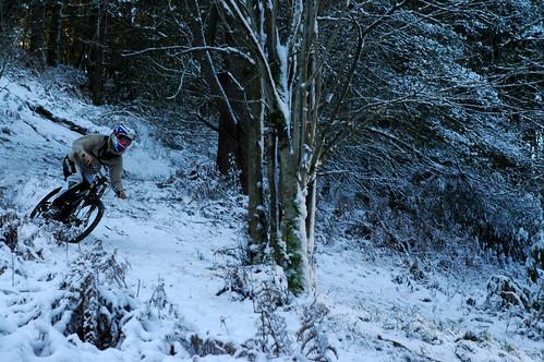 Snowww biking